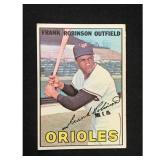 1967 Topps Frank Robinson Card