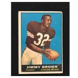 1961 Topps Football Jimmy Brown Hof