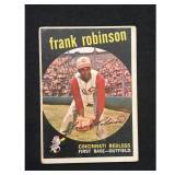 1959 Topps Frank Robinson Card