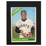 1966 Topps Willie Mays Card