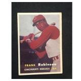 1957 Topps Frank Robinson Card