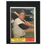 1961 Topps Yogi Berra Card