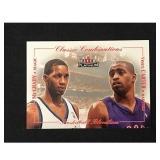 2001 Fleer Platinum Vince Carter Rookie Card
