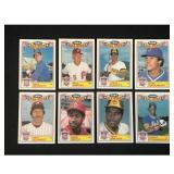 1985 Topps Allstar Game Complete Set 22 Cards