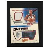 2002 Fleer Grant Hill Game Used Jersey Card