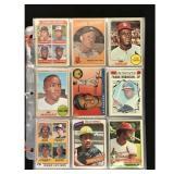 Over 150 Estate Baseball Cards 1950