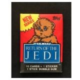 Return Of The Jedi Unopened Pack