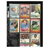 8 Vintage Football Stars/hof