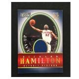 2005 Topps Richard Hamilton Game Used Card