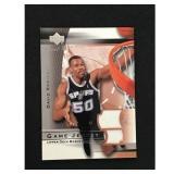 2003-04 Upper Deck David Robinson Jersey Card
