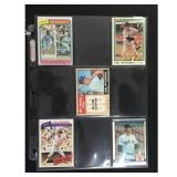 5 Vintage Carl Yastrzemski Cards