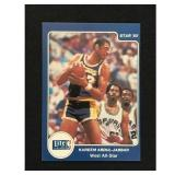 1985 Star Basketball Kareem Abdul Jabbar Card