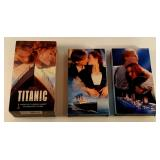 Titanic 2 Movie VHS Set - 1997 194 min