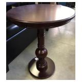 New Classic Expresso Round Occassional Table