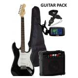 New Electric Guitar Gift Pack w/ Amp + Accessories