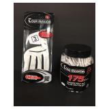 New Tour Mission Mens Golf Gift Set, Glove & Tees