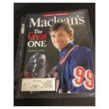 Wayne Gretzky 1999 Macleans, The Great One