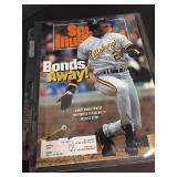 Barry Bonds 1992 Sports Illustrated