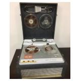 Vintage Webcor Royal Reel To Reel System