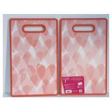 New Set of 2 Core Kitchen Double Cutting Boards