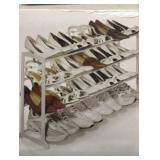 New Essential Needs 20 Pair Shoe Rack