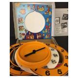 Vintage 1981 VDO Quartz Clock Learning Game