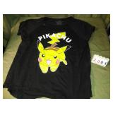 Size 1X PIKACHU POKEMON Graphic Tee T-Shirt