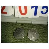 France 1/2 Franc Coins