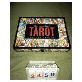 TAROT Book and Card Set