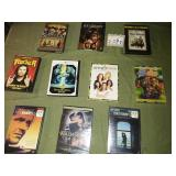 Lot of 10 DVDs