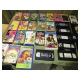 Lot of 30 VHS Movies