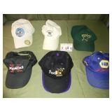 Lot of 6 Hats Caps - Includes FEDEX + NAPA RACING