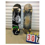 Lot of 2 OLD SCHOOL Skateboards