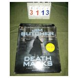 Set of 9 AUDIOBOOK CDs - DEATH MASKS
