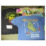 QTY 3 VINTAGE T-Shirts - Bob Marley, Gumby + More