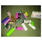 Assortment of LIGHTERS - All tested and working