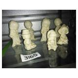 Set of 7 Figurines
