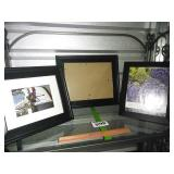3 Piece Lot of WELL-MADE Photo Frames