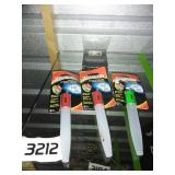 3 NEW Eveready LED Glow Sticks + Light String