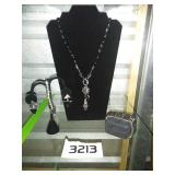 NECKLACE + BRACELET + EARRING SET
