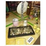 Assorted Lot of Candle Decor