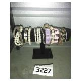Large Lot of Jewelry - 14 BRACELETS