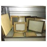Large Lot of PHOTO FRAMES