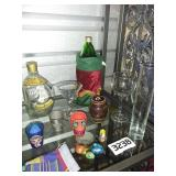 Liquor Drink Bottles + Glasses + Shot Glasses