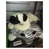 Lot of 2 PILLOW Animals - VERY CLEAN - See photos