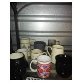 Assorted Lot of Coffee Cups + Stein + DARTH VADER