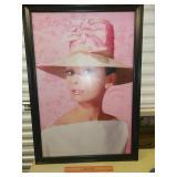 HUGE Audrey Hepburn Print