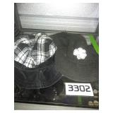 Shamrock Hat + Plaid Cap