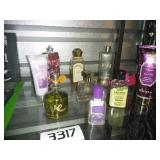 Perfume Bottle + Fragrance Lot
