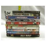 LOT OF 10 DVD